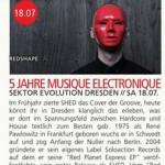 5 Jahre Musique Electronique Feté Dresden