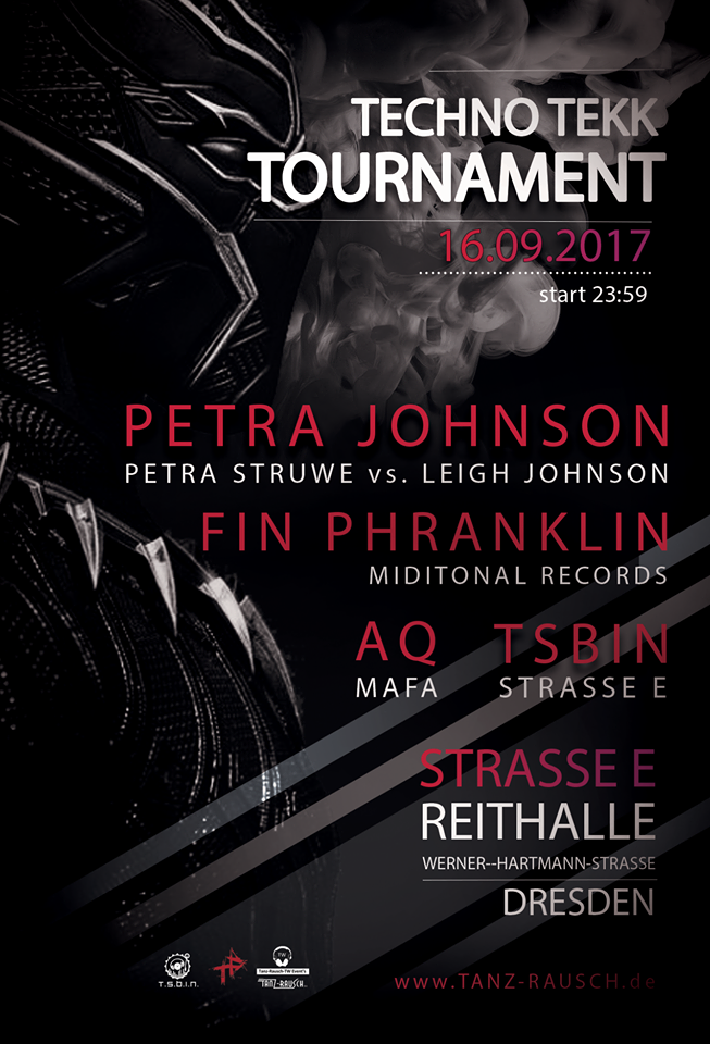 1609 Petra Struwe Leigh Johnson TSBiN techno tekk Tournament Strassse E