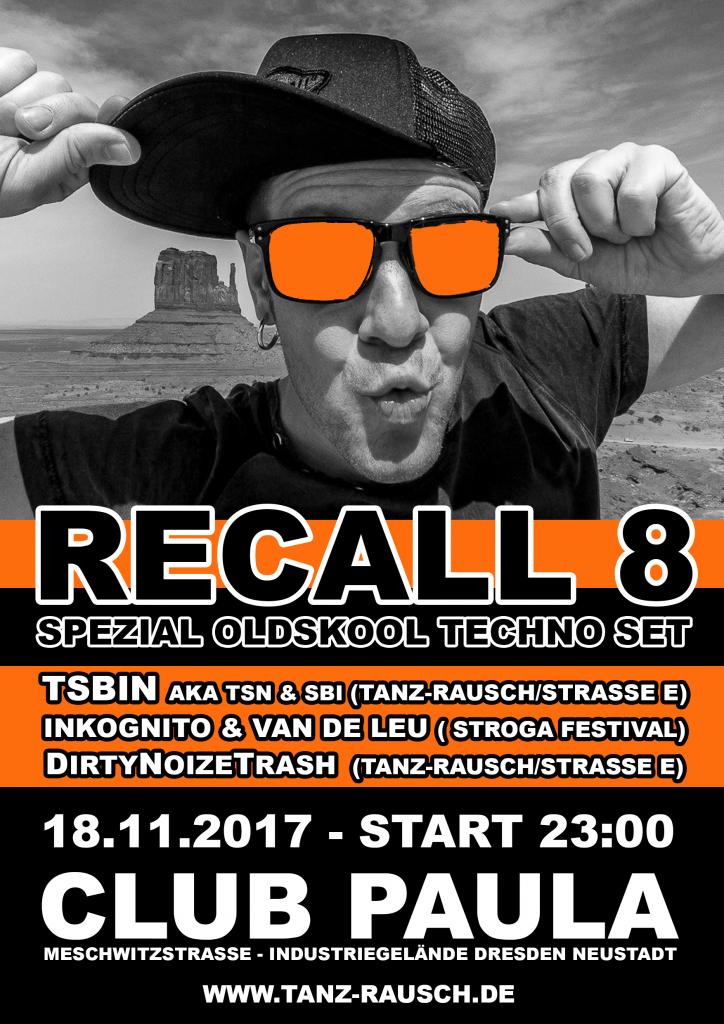 RECALL8 Paula 18.11.2017